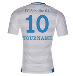 2015-16 Schalke Away Shirt (Your Name)