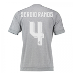 2015-16 Real Madrid Away Shirt (Sergio Ramos 4)