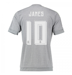 2015-16 Real Madrid Away Shirt (James 10) - Kids