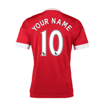 2015-16 Man United Home Shirt (Your Name) -Kids