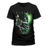 Alien - Alien Head - Unisex T-shirt Black