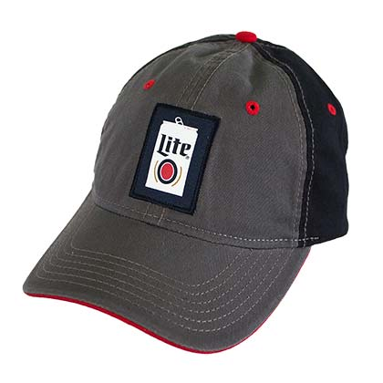 MILLER Lite Beer Can Logo Hat