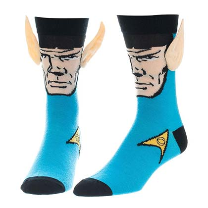 STAR TREK Spock Ears Women's Socksb
