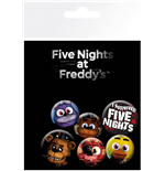 Five Nights at Freddy's Badge Pack - Mix