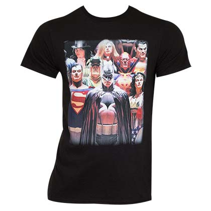 JUSTICE LEAGUE Slim Fit Tee Shirt