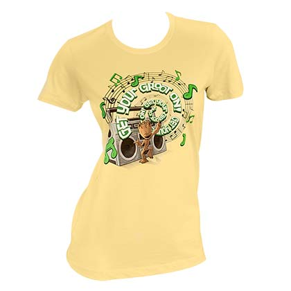 GUARDIANS OF THE GALAXY Get Your Groot On Ladies Tee Shirt
