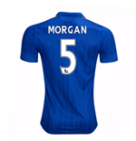 2016-17 Leicester City Home Shirt (Morgan 5) - Kids