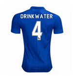 2016-17 Leicester City Home Shirt (Drinkwater 4) - Kids