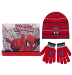 Spiderman Scarf and Cap Set 259158