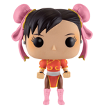 Street Fighter POP! Games Vinyl Figure Chun-Li (Red Outfit) 9 cm