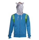 Adventure Time - Finn Inspired Cosplay Hoodie