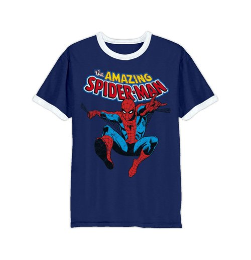 dab8e606659 Official Marvel Comics T-Shirt Amazing Spiderman: Buy Online on Offer