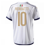 2006 Italy Tribute Away Shirt (Verratti 10)