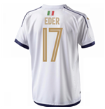 2006 Italy Tribute Away Shirt (Eder 17)