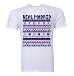 Real Madrid Christmas T-Shirt (White)