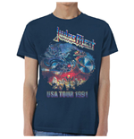Judas Priest Men's Tee: Painkiller US Tour 91