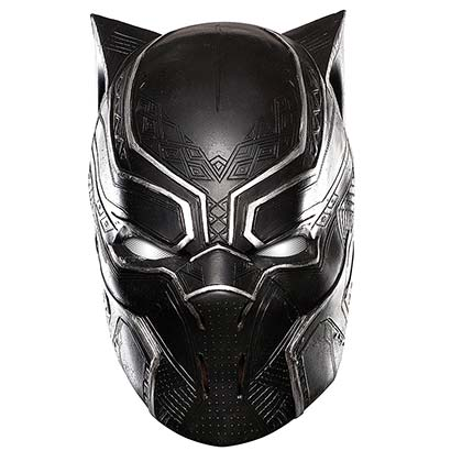 BLACK PANTHER Vinyl Costume Adult Mask