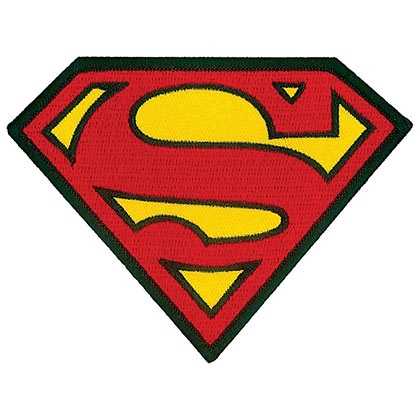 SUPERMAN Iron On Patch