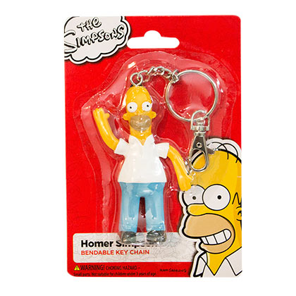 The SIMPSONS Homer Figurine Keychain