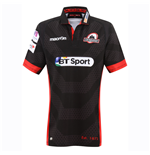 2016-2017 Edinburgh Home Pro Rugby Shirt