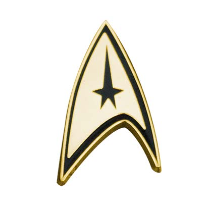 STAR TREK Gold Lapel Pin