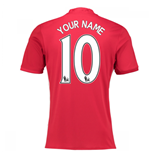 2016-17 Manchester United Home Shirt (Your Name) -Kids