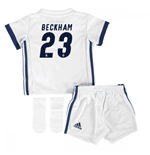 2016-17 Real Madrid Home Adidas SMU Mini Kit (Beckham 23)