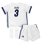 2016-17 Real Madrid Home Adidas SMU Mini Kit (Pepe 3)