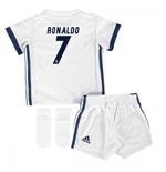 2016-17 Real Madrid Home Adidas SMU Mini Kit (Ronaldo 7)