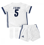 2016-17 Real Madrid Home Adidas SMU Mini Kit (Zidane 5)