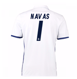 2016-17 Real Madrid Home Shirt (Navas 1) - Kids