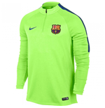2016-2017 Barcelona Nike Drill Training Top (Ghost Green) - Kids