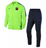 2016-2017 Barcelona Nike Squad Dry Tracksuit (Ghost Green) - Kids