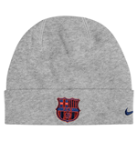 2016-2017 Barcelona Nike Training Beanie (Light Grey)