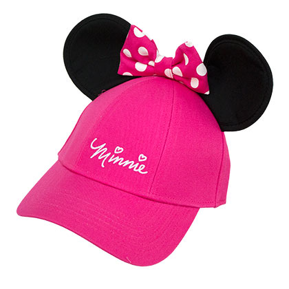 Minnie Mouse Youth Girls Ears Hat