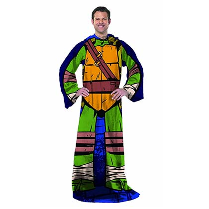 TEENAGE MUTANT NINJA TURTLES Leonardo Adult Snuggie