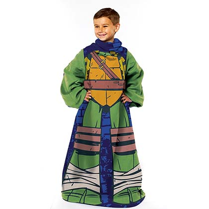 TEENAGE MUTANT NINJA TURTLES Leonardo Youth Snuggie