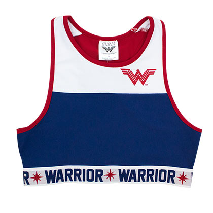 WONDER WOMAN Crop Top Tank Top