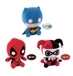 DC & Marvel Comics POP! Plush Figures 15 cm Assortment (9)