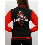 Batman Varsity Jacket Harley Quinn Diamond