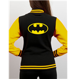 Batman Varsity Jacket Black & Yellow Logo