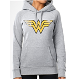 Wonder Woman Hooded Sweater Vintage Logo