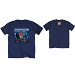 The Beatles  Men's Tee: Sgt Pepper Blue