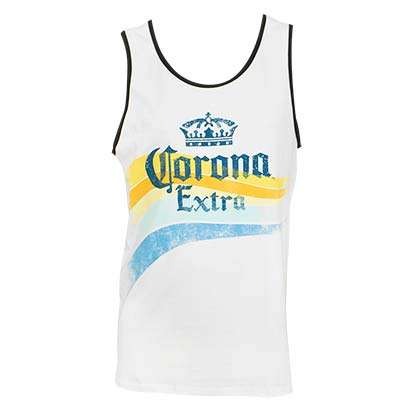 CORONA EXTRA Waves Tank Top