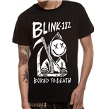 Blink 182 - Bored To Death - Unisex T-shirt Black