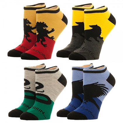 HARRY POTTER Women's Ankle Socks Set
