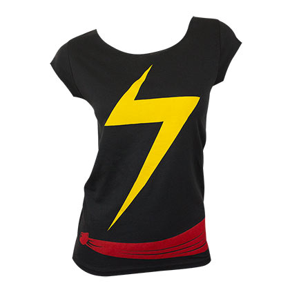 Ms Marvel Women's Costume Tee Shirt