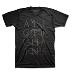 Alice in Chains T-shirt - Snakes Black