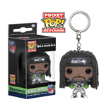 NFL Pocket POP! Marvel Vinyl Keychain Richard Sherman (Seattle Seahawks) 4 cm
