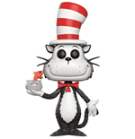 Dr. Seuss POP! Books Vinyl Figure Cat In The Hat (Fish Bowl) 9 cm